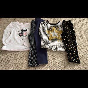 Tommy Hilfiger Matching Sets - 24 months/ 2t girls 8 piece set